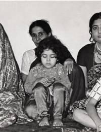 Afshan (Bride), Iqbal Begum & Uzma. children, Mamona, Shafaqet