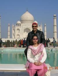 Habib & Erum in Agra