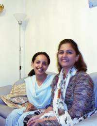 with Sadia