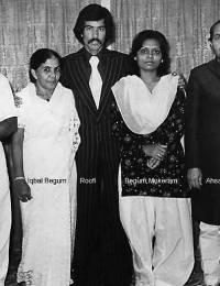 L to R: Mukeram, Iqbal Begum, Roofi, Bilqeer Mukeram, Ahsan Mirza