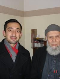 with Zaheer Beg